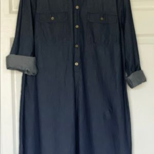 Jeans dress long sleeve Old Navy